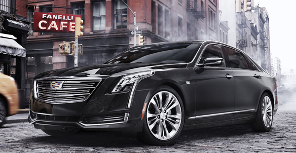 CADILLAC'S CT6 — TOP OF THE LINE