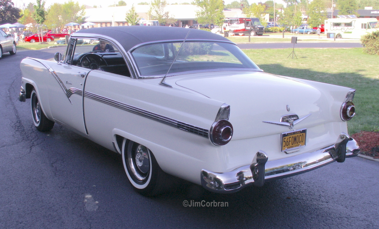 RealRides of WNY - 1956 Ford Fairlane Victoria