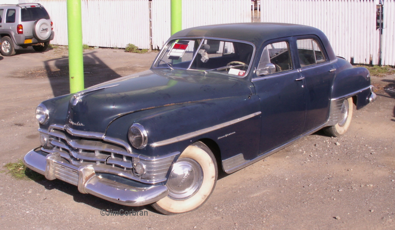 RealRides of WNY - 1950 Chrysler New Yorker