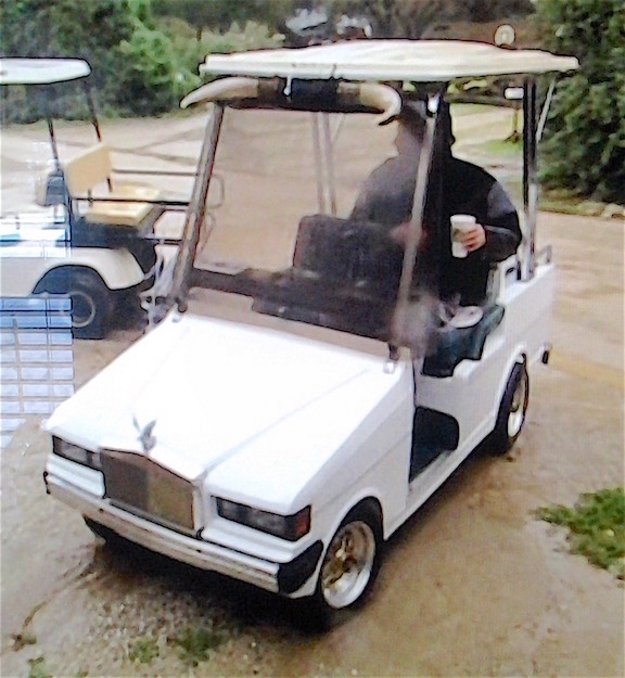 RealRides of WNY - Deadwood Movie-Lot Golf Cart