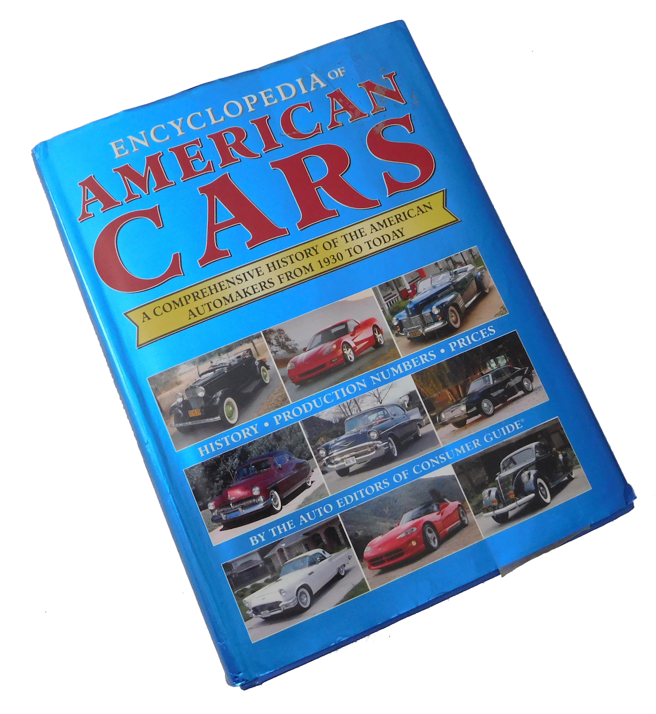LOOK IT UP! Automotive reference books on my shelf…