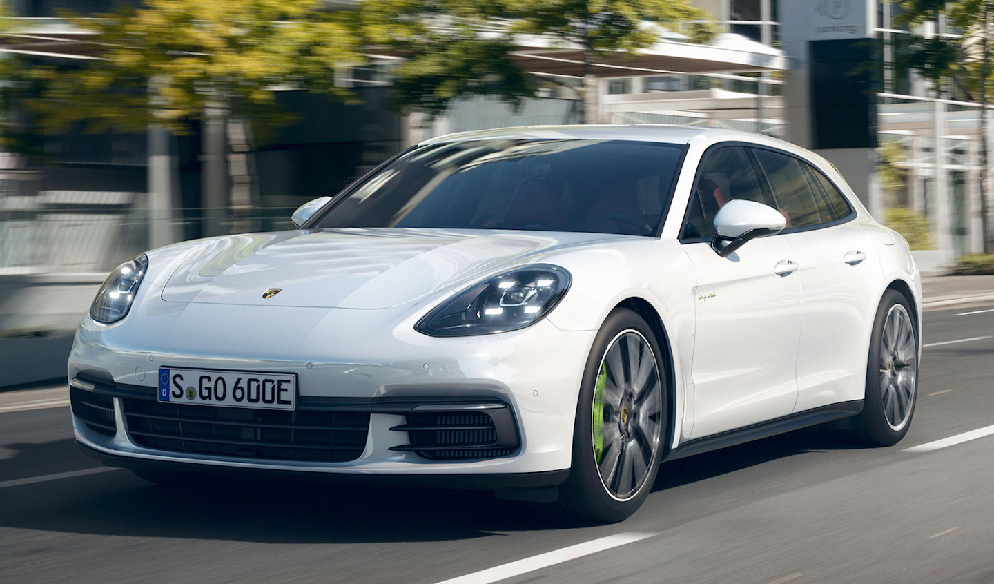 THE SHAPE OF THINGS, 2018-STYLE — Porsche's new Panamera Sport Turismo