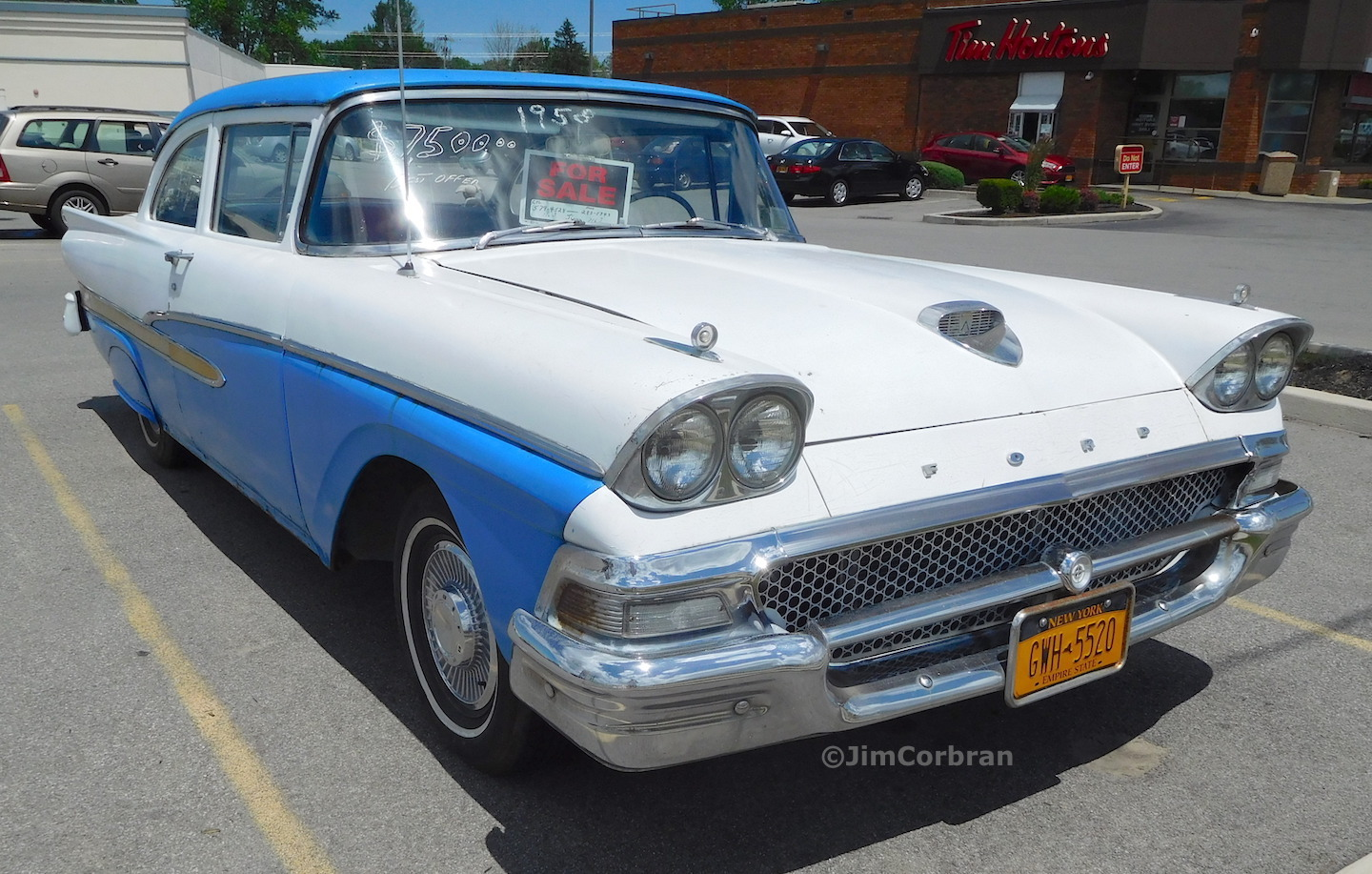 RealRides of WNY - 1958 Ford Custom 300