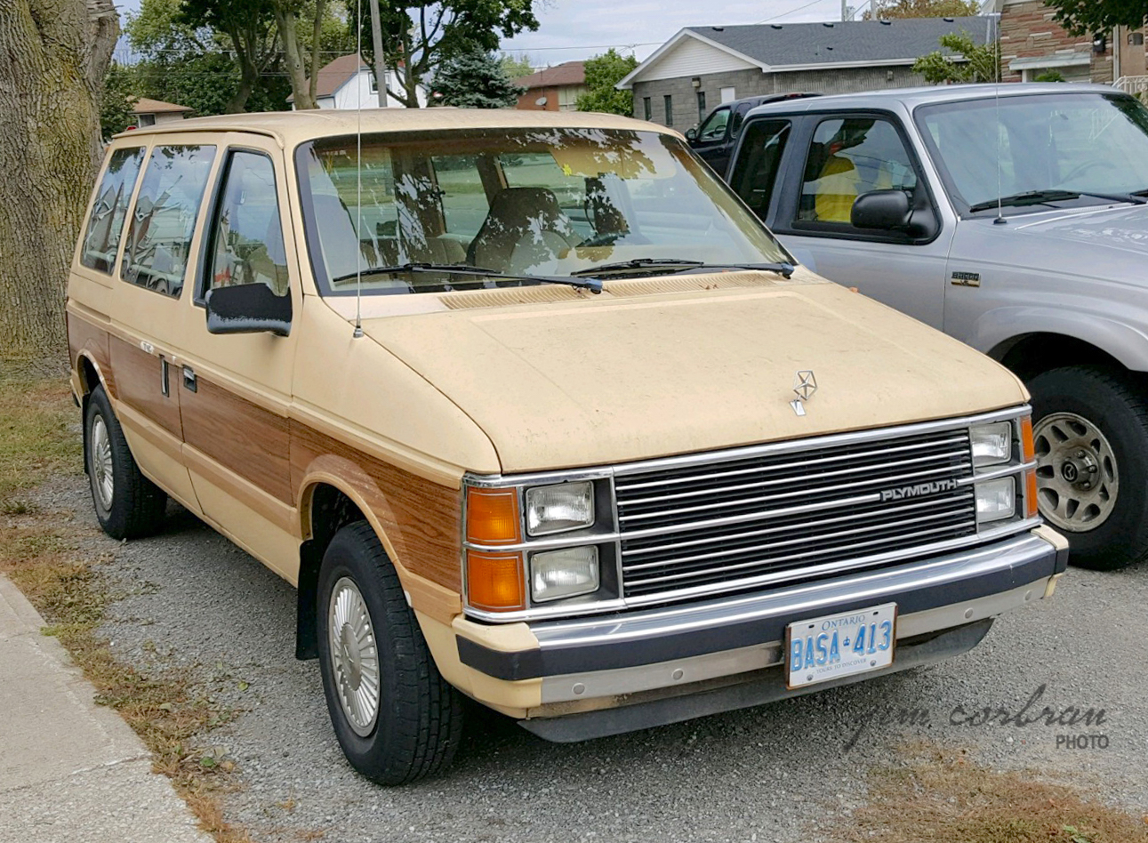 RealRides of WNY - c1984 Plymouth Voyager