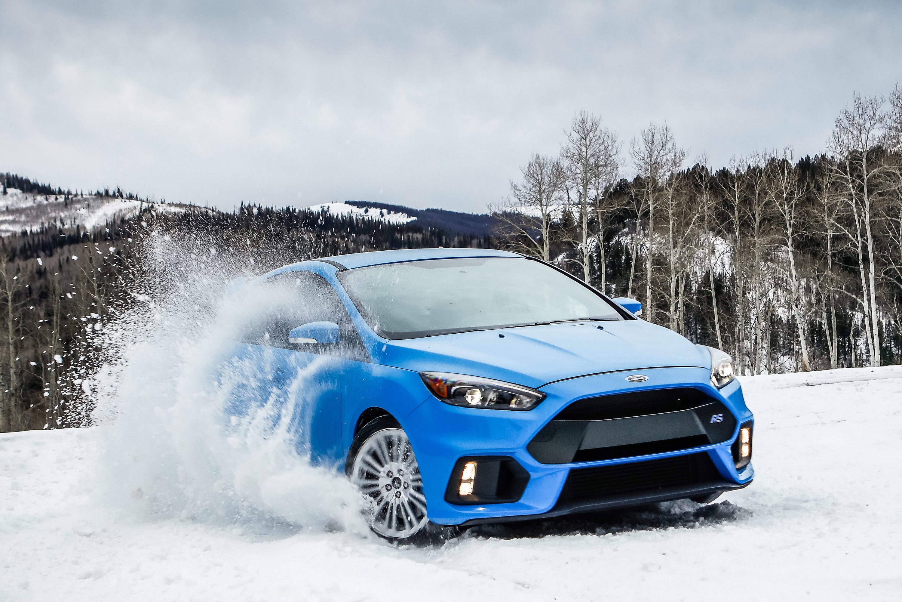 FORD'S HOT HATCH  — 2018 Ford Focus RS