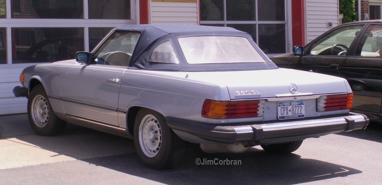 RealRides of WNY - 1983 Mercedes-Benz 380 SL