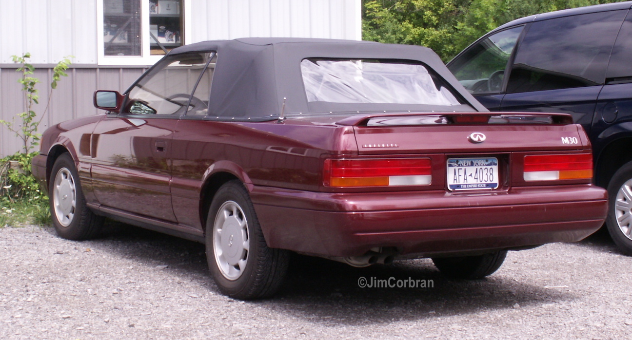 RealRides of WNY - 1991 Infinity M30