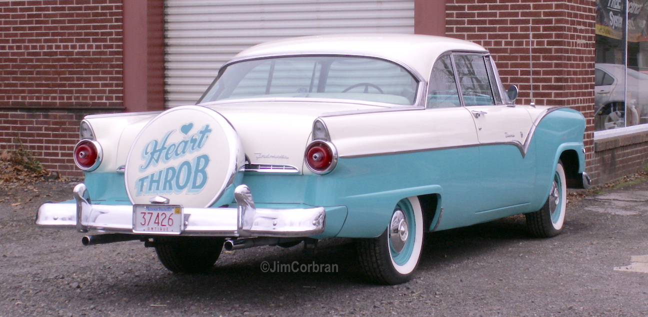 RealRides of WNY - 1955 Ford Fairlane Victoria