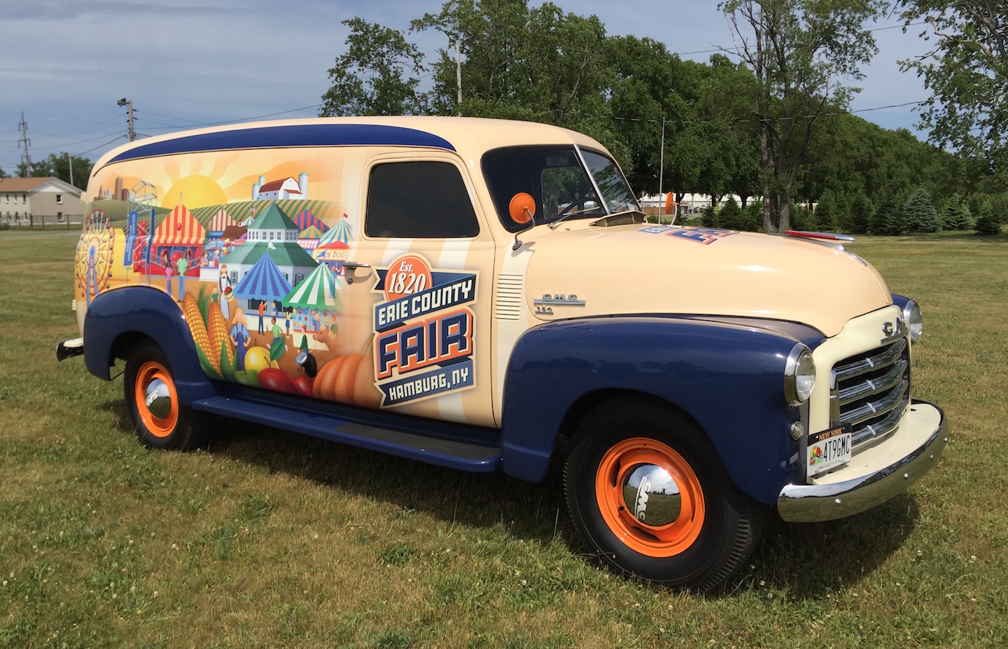 RealRides of WNY - 1949 GMC 250 panel truck