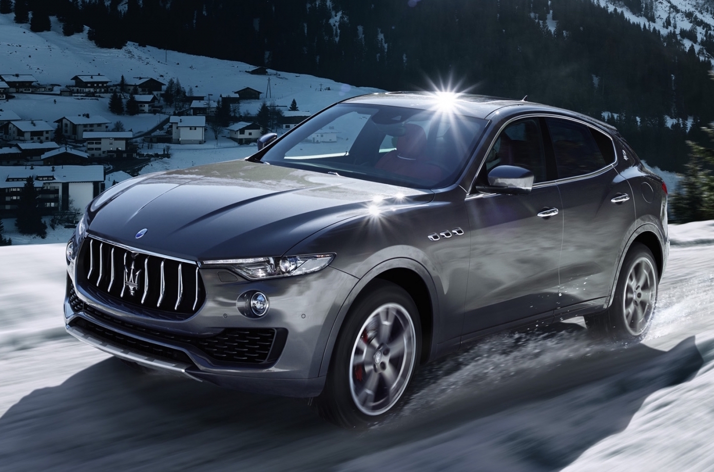 LEVANTE — THE MASERATI OF SUVs