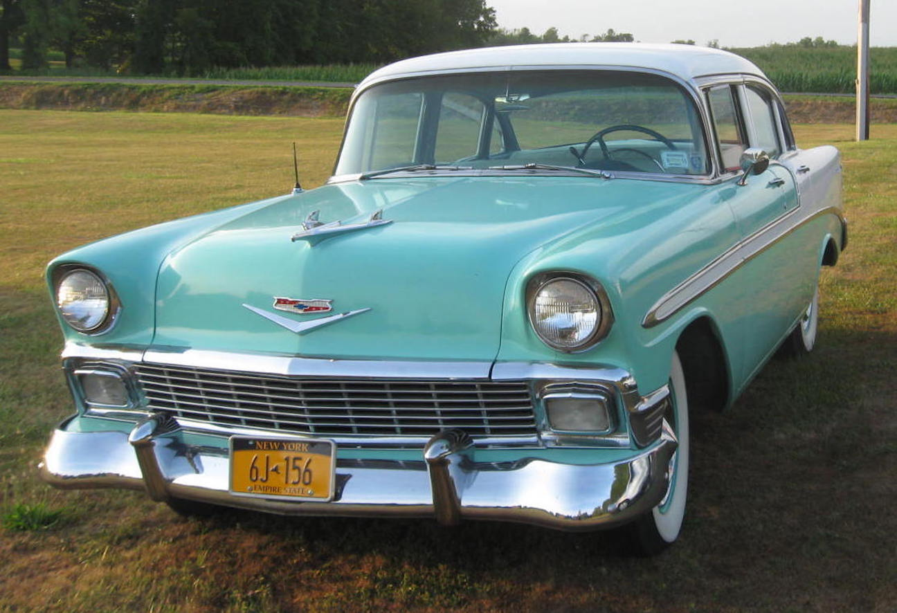 RealRides of WNY - 1956 Chevy Bel Air