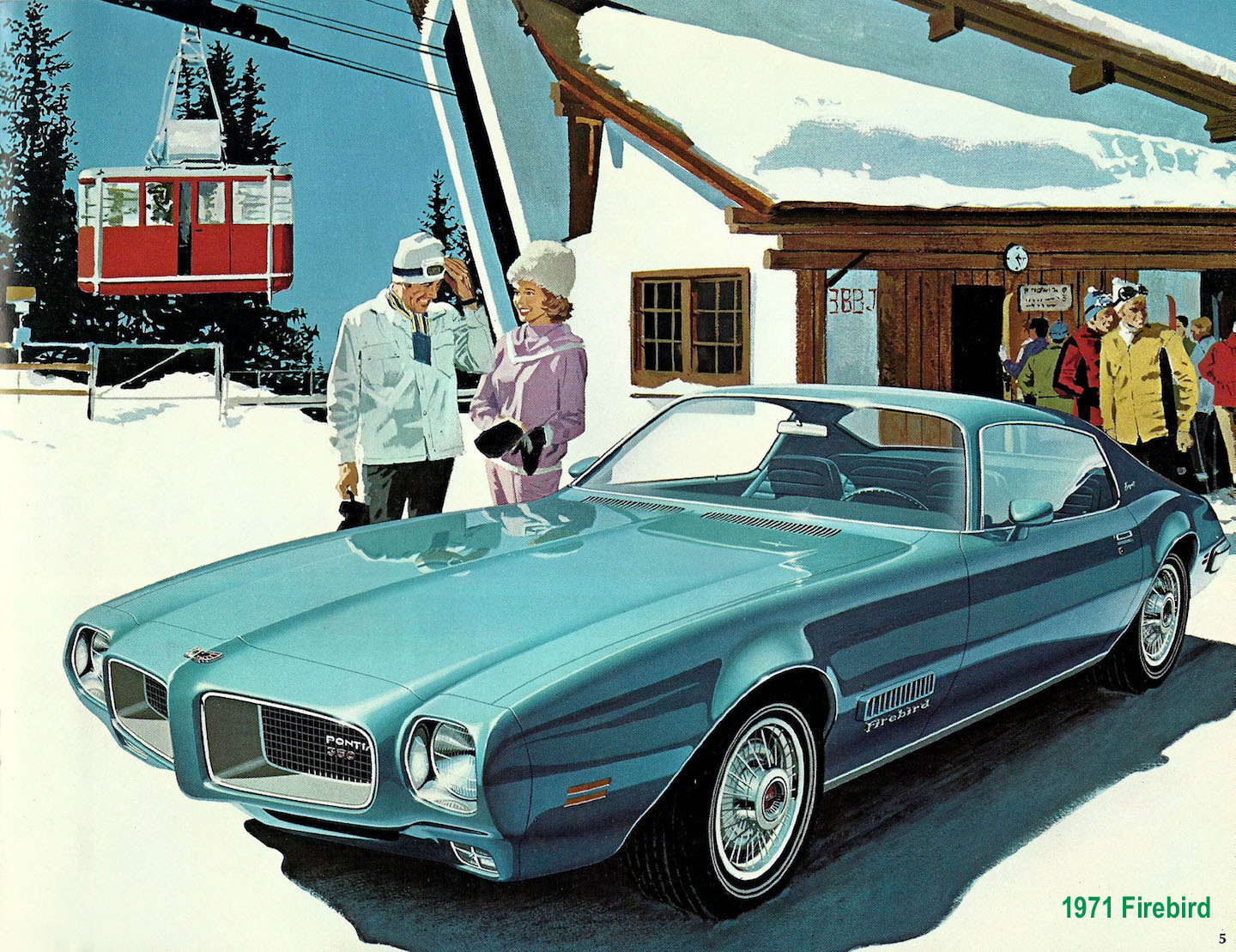 THOSE PONTIAC ILLUSTRATIONS OF THE MID-20TH CENTURY