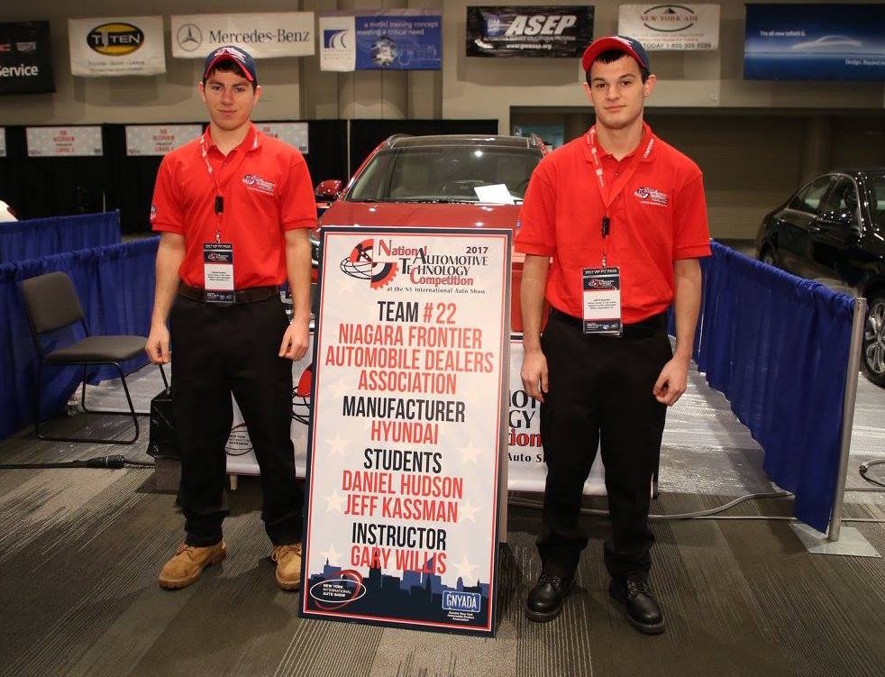 KEN-TON TEAM REPRESENTS WNY AT NATIONAL AUTO TECH COMPETITION…