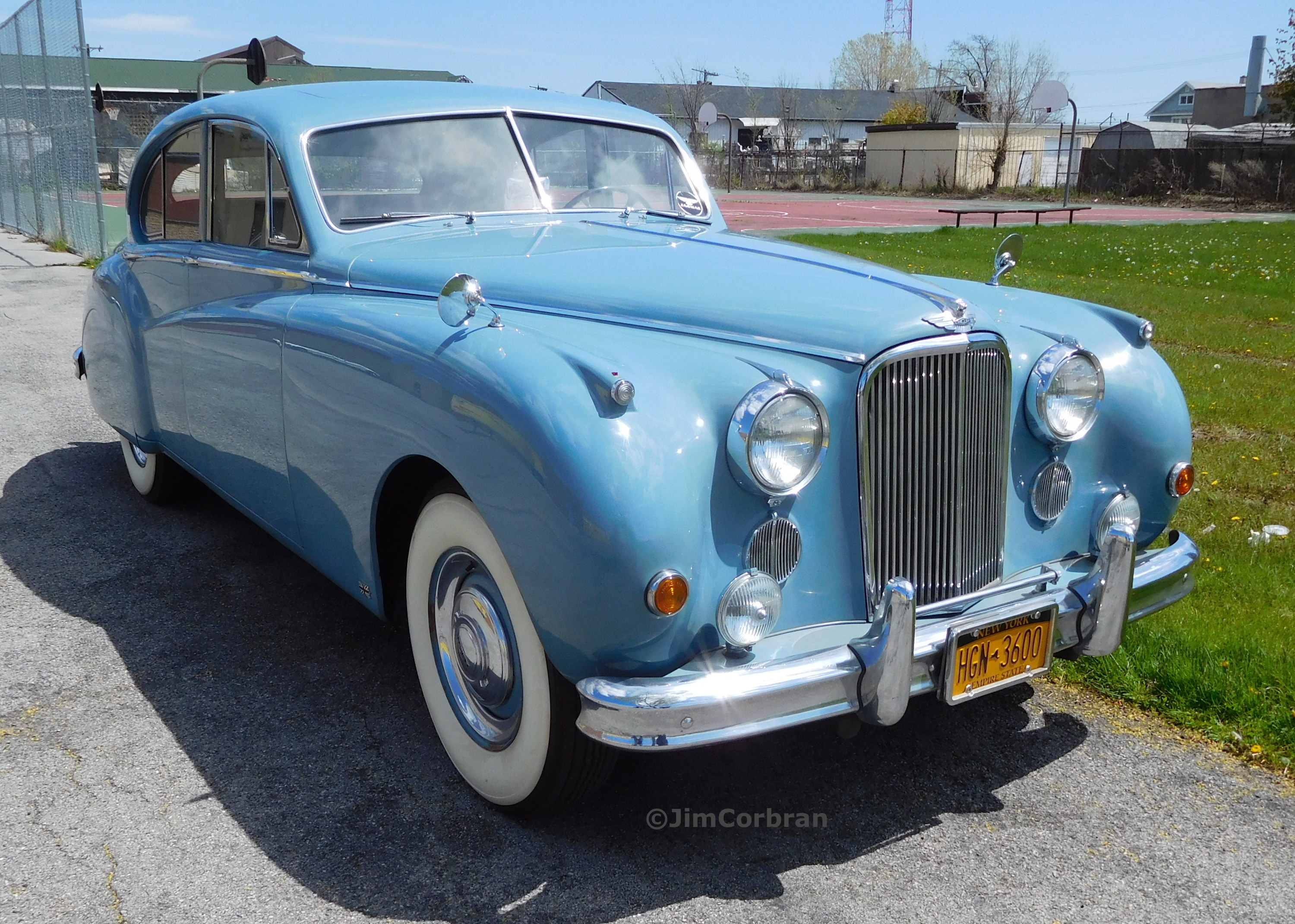 RealRides of WNY - 1955 Jaguar Mark VII