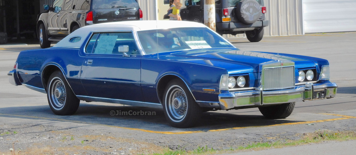 RealRides of WNY - 1974 Lincoln Continental Mark IV