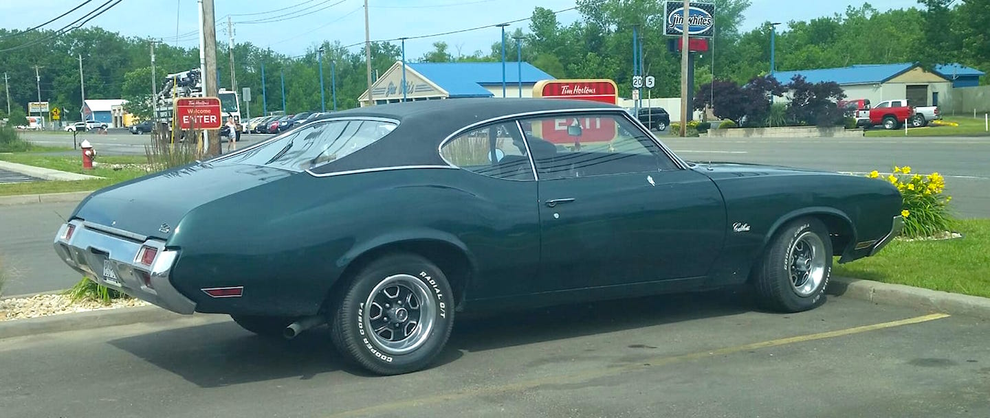 RealRides of WNY - 1971 Olds Cutlass
