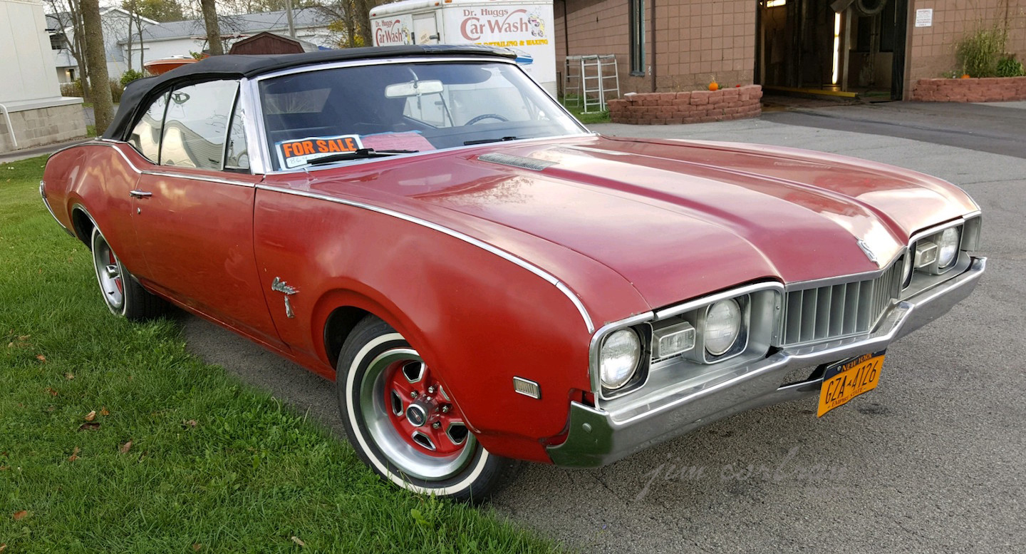 RealRides of WNY - 1968 Oldsmobile Cutlass S