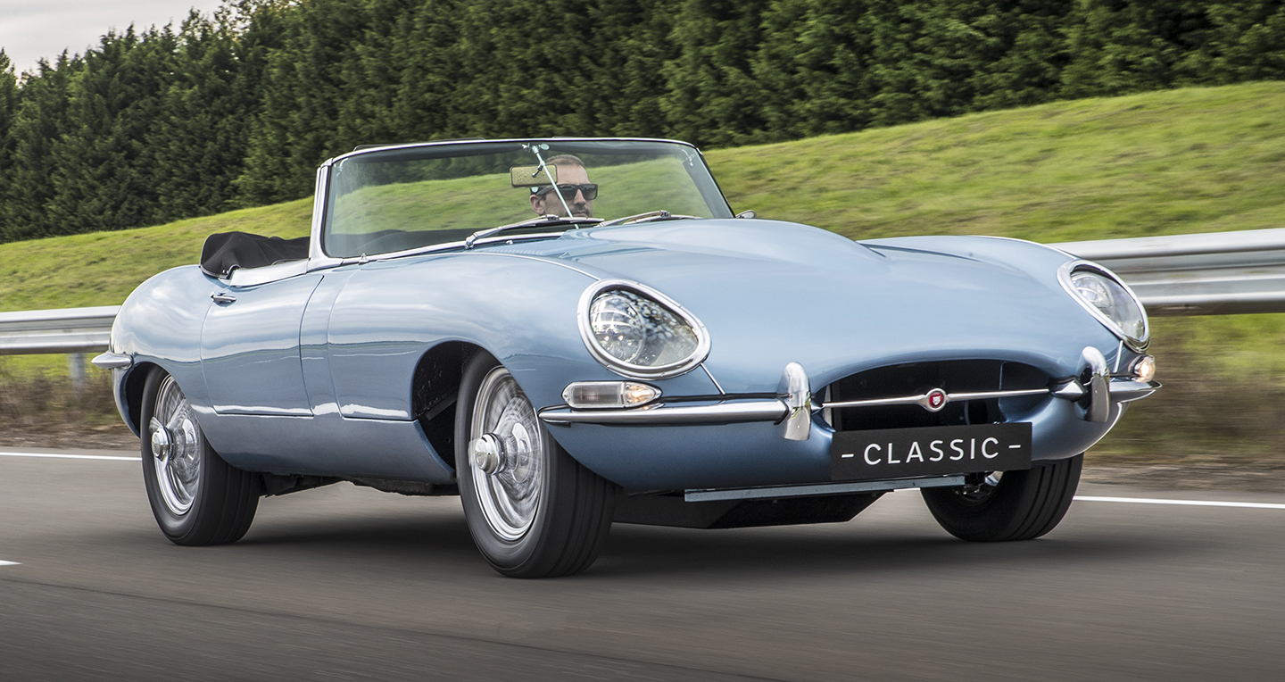 THE QUIETEST E-TYPE IN EXISTENCE  — Jaguar's E-type Zero