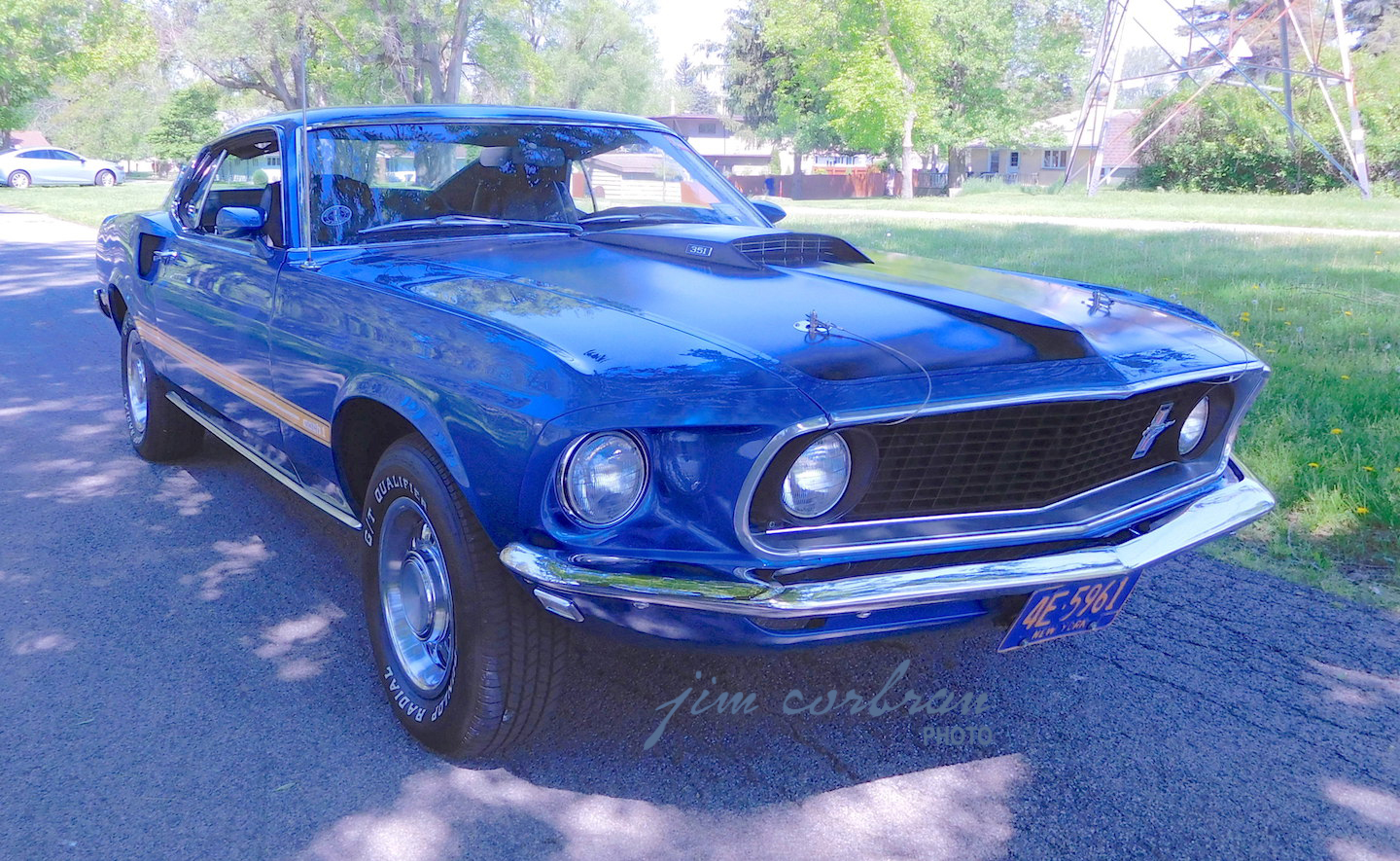 ONE-OWNER AND COUNTING  — 1969 Ford Mustang Mach 1