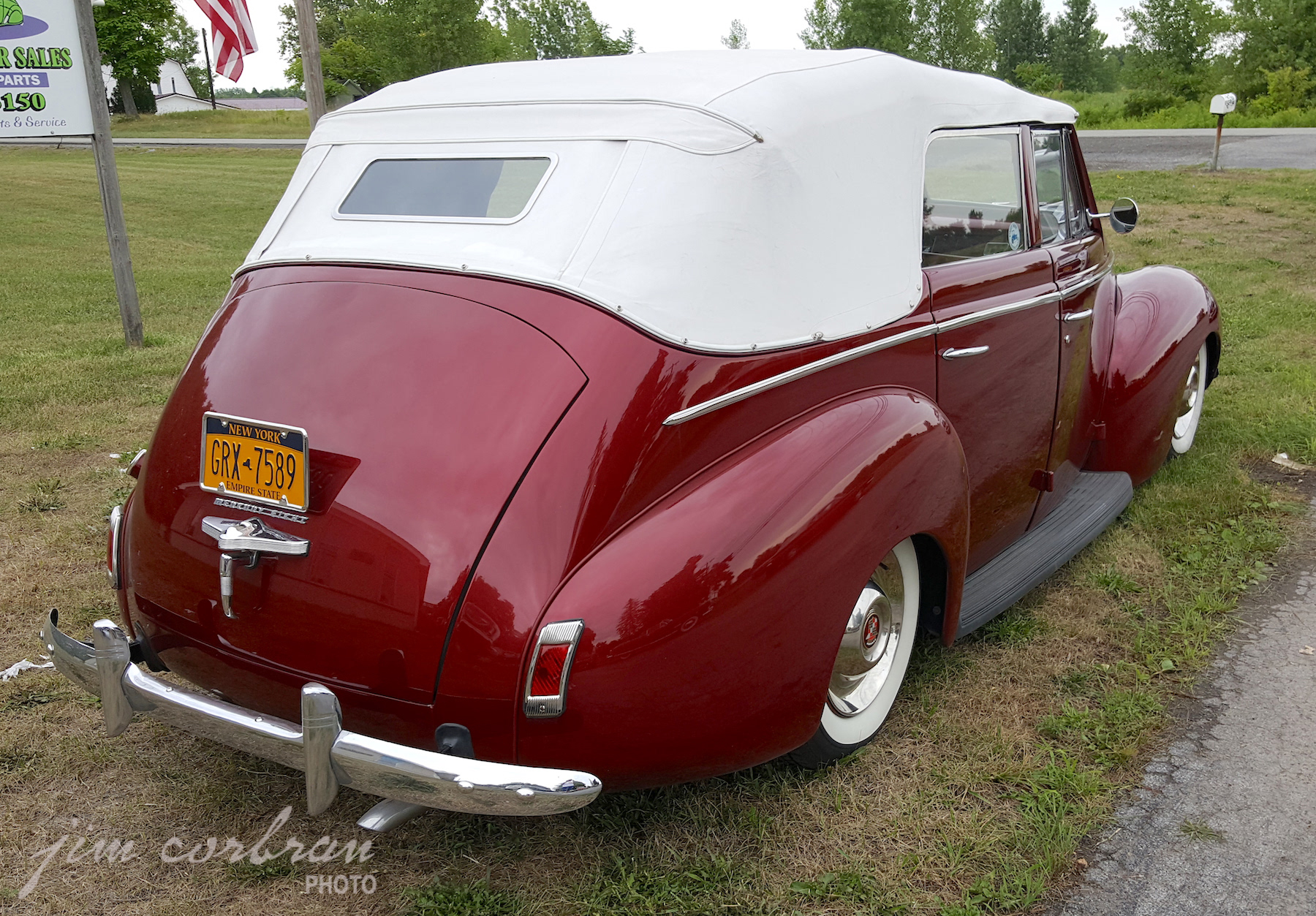 RealRides of WNY - 1940 Mercury Eight