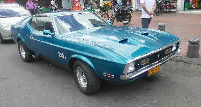 RealRides of WNY (on the Road) - Mustang Mach 1, c1971