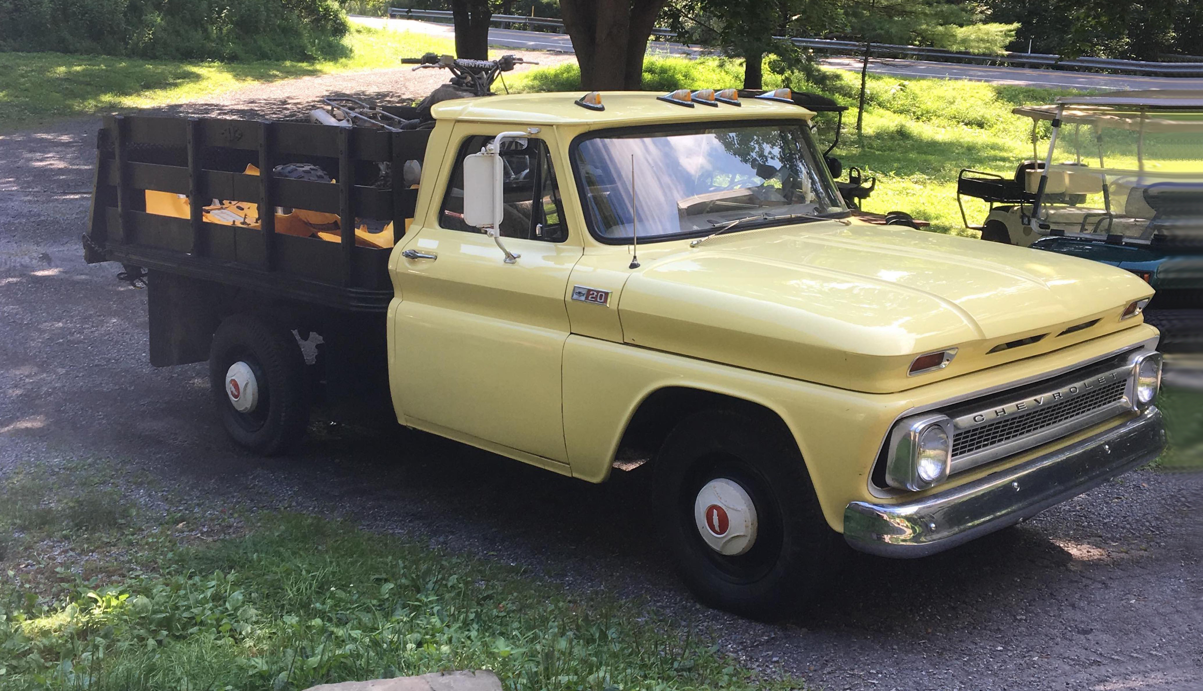 RealRides of WNY (on the road) - 1965 Chevy C-20