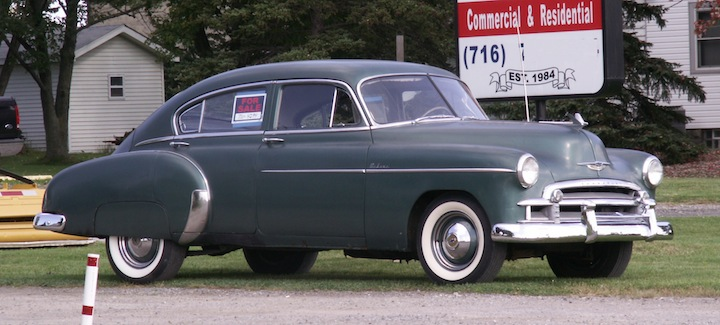 RealRides of WNY - 1950 Chevy Fleetline Deluxe