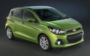 THE 2016 CHEVY SPARK: BIG CHANGES COME IN SMALL PACKAGES